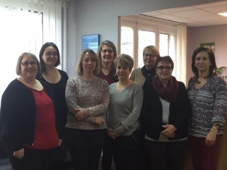 Photo Secretaires CD94 - Fev 2018