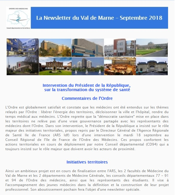 Newsletter sept 1